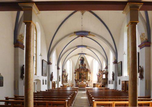 beverungen church interior