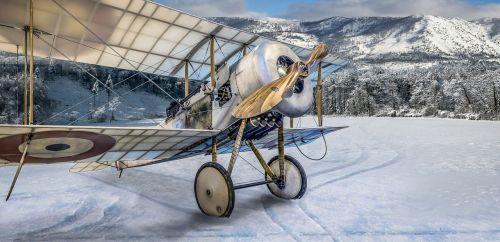 bi plane aircraft plane