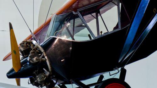Bi Plane Cockpit