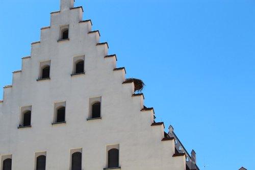 biberach  württemberg  storchennest