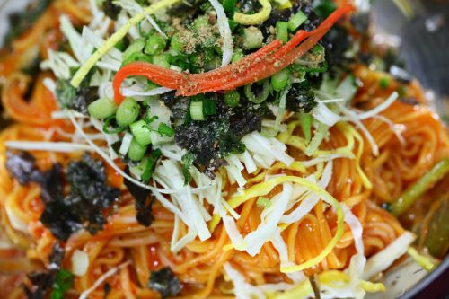 bibim guksu spicy a feast of food