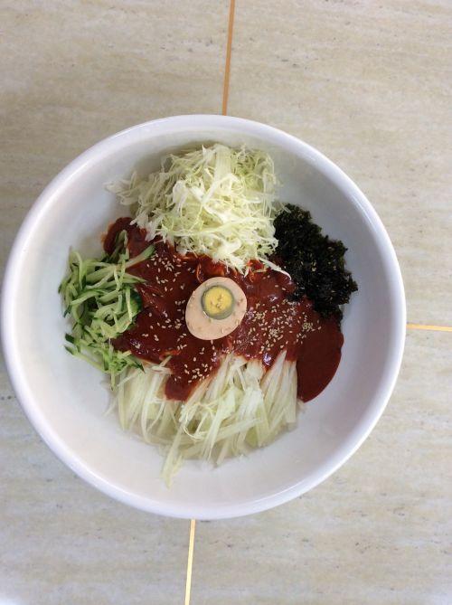 bibim sprout noodles daetip bibim noodles daetip noodles smile
