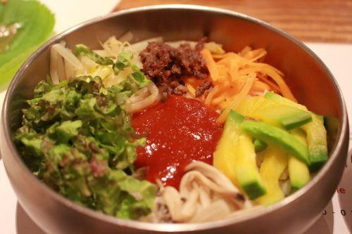 bibimbap korean gochujang