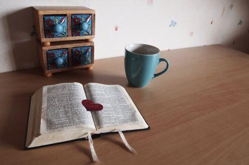 bible read coffee