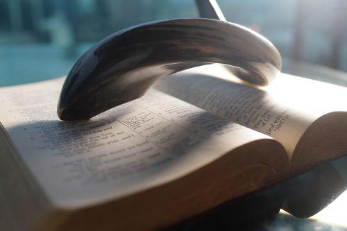 bible horn scripture