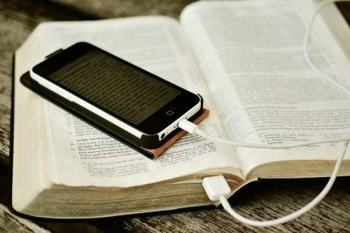 bible iphone mobile phone