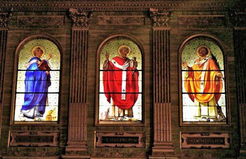 biblical church saints