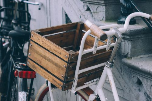 bicycle grocery cart basket