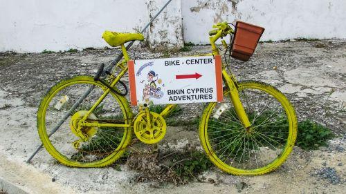 bicycle yellow activity