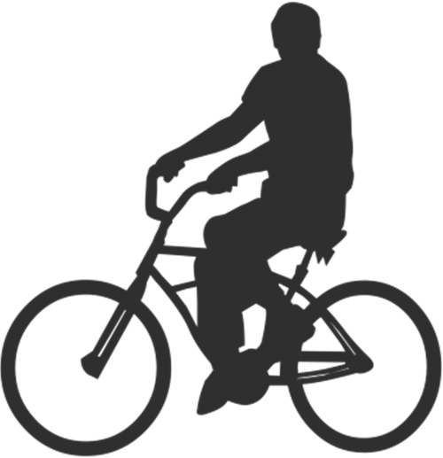 bicycle person man