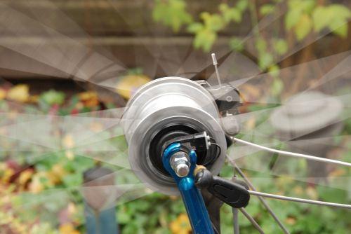 bicycle wheel motion