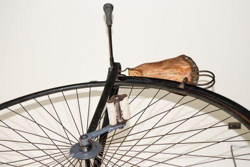 bicycle large wheel vintage