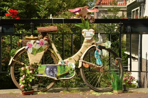bicycle cycling decoration