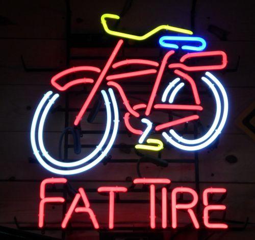 bicycle neon lighting