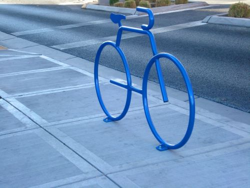 bicycle parking place to park
