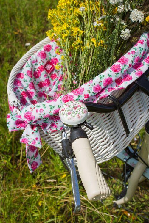bicycle summer basket