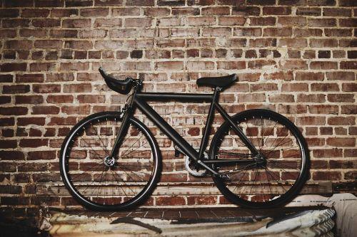 bicycle bike wall