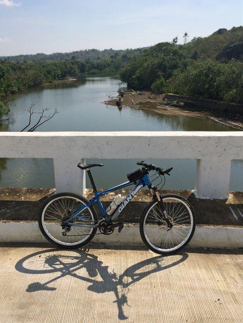bicycle river bridge