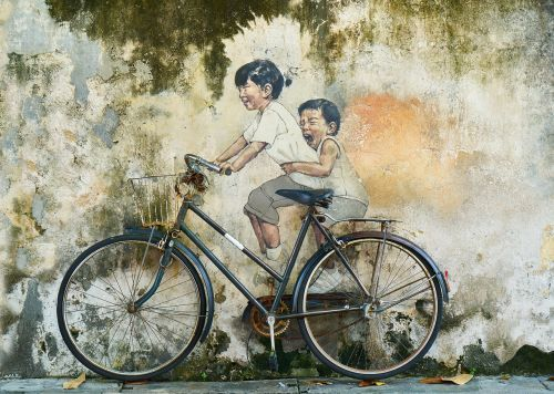 bicycle rides child