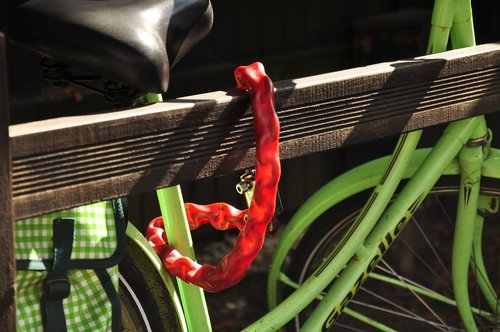 bicycle  lock  theft