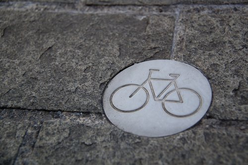bicycle  bike path  cycling