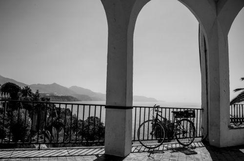 bicycle balcón de europa nerja