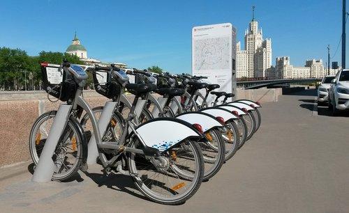 bicycle rental  bike  moscow