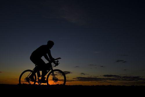 bicycle rider riding bike