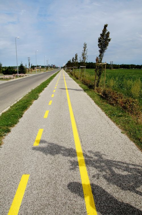 bicycle trail path inline
