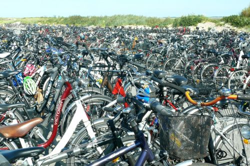 bicycles bike parking