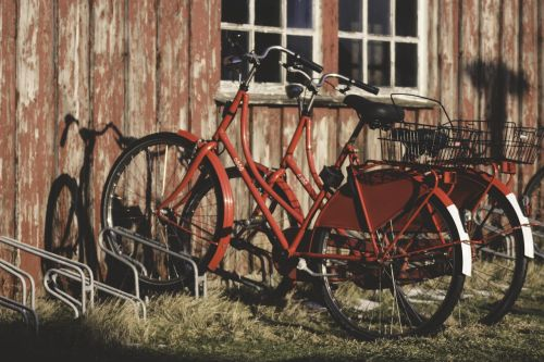 bicycles red bike