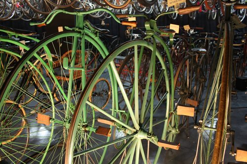 bicycles  oldtimer  museum