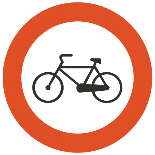 bicycles sign bicycle