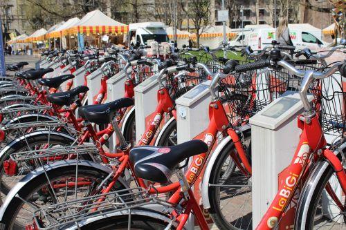 bicycles bike sharing transport