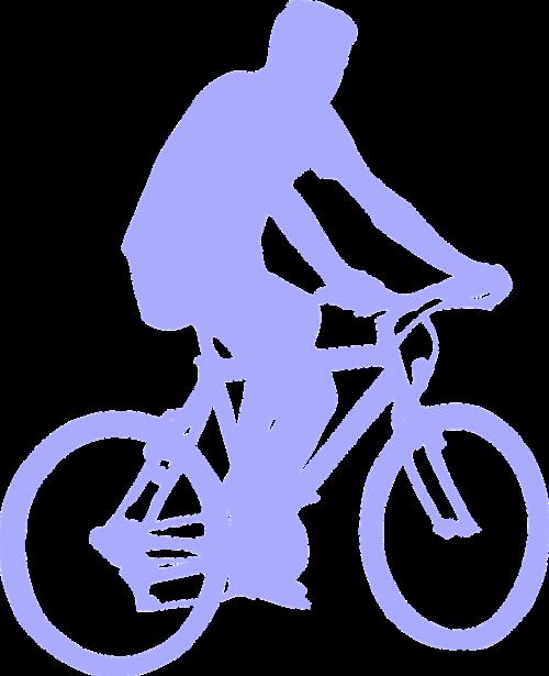 bicyclist mountainbike sport