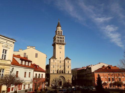 bielsko-biała the cathedral beskids