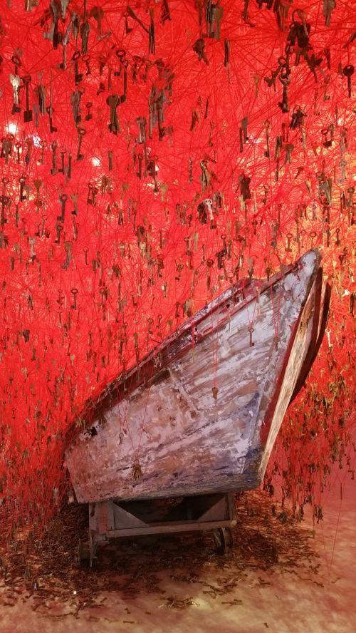 biennale venice boat