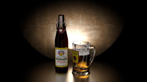 bier blender 3d