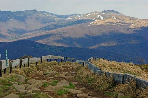 bieszczady  mountains  landscape