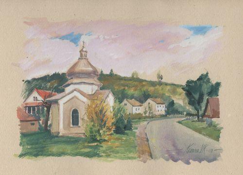 bieszczady chapel picture