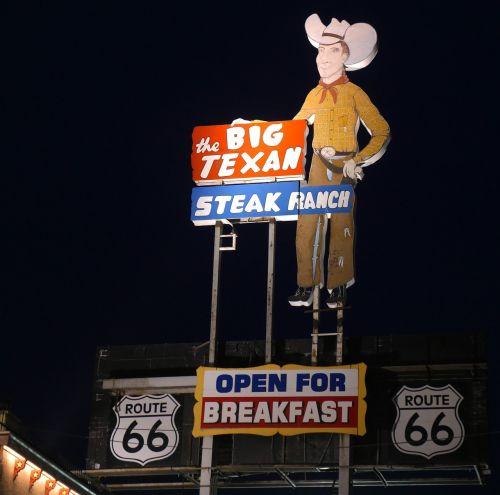 big texan route 66