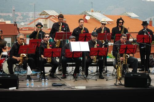 big band jazz music