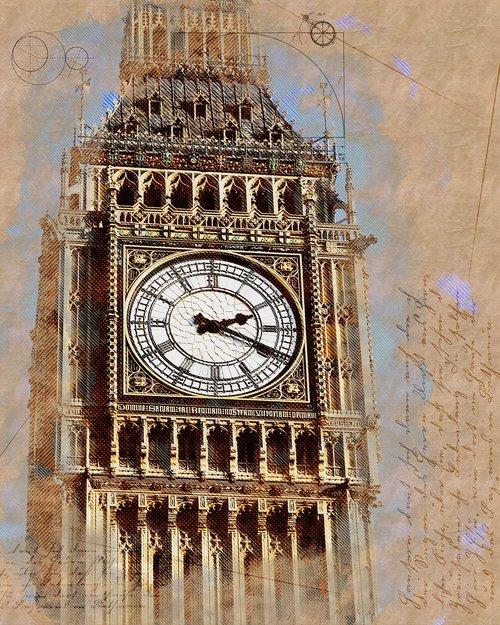 big ben  london  wes