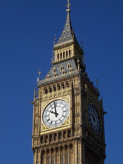 big ben close up landmark