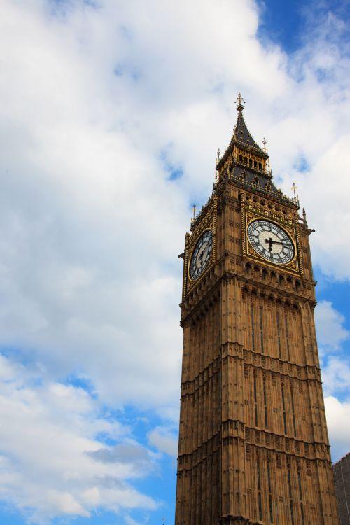 Big Ben Against Sky