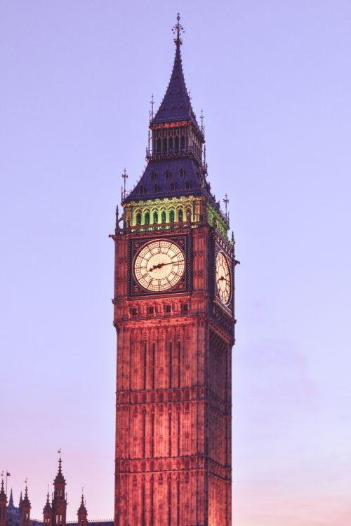 Big Ben And Sky