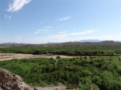 big bend national park usa rio bravo