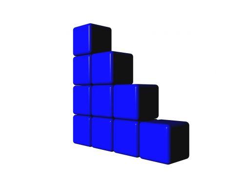 big data data blocks info graphic