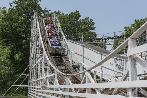 big dipper roller coaster thrilling