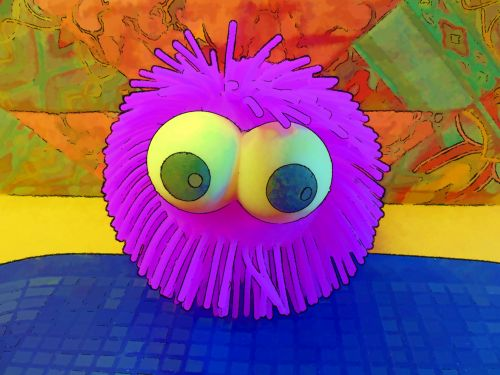 Big Eyed Squeeze Toy